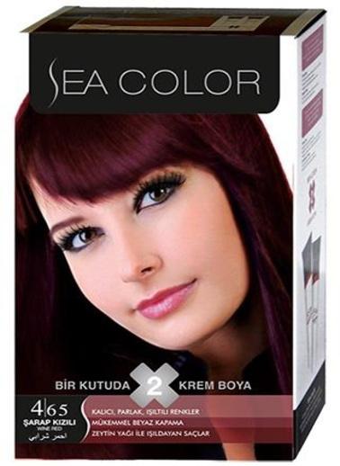 Sea Sea Color 2 Li Saç Boyası 4-65 Kırmızı